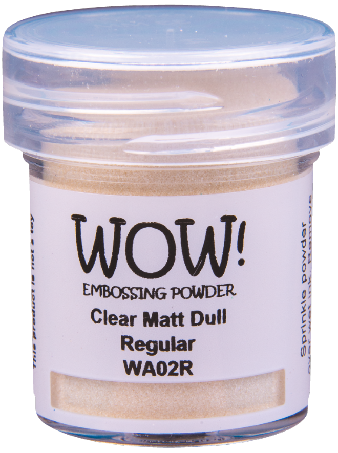WA02 Clear Matt Dull